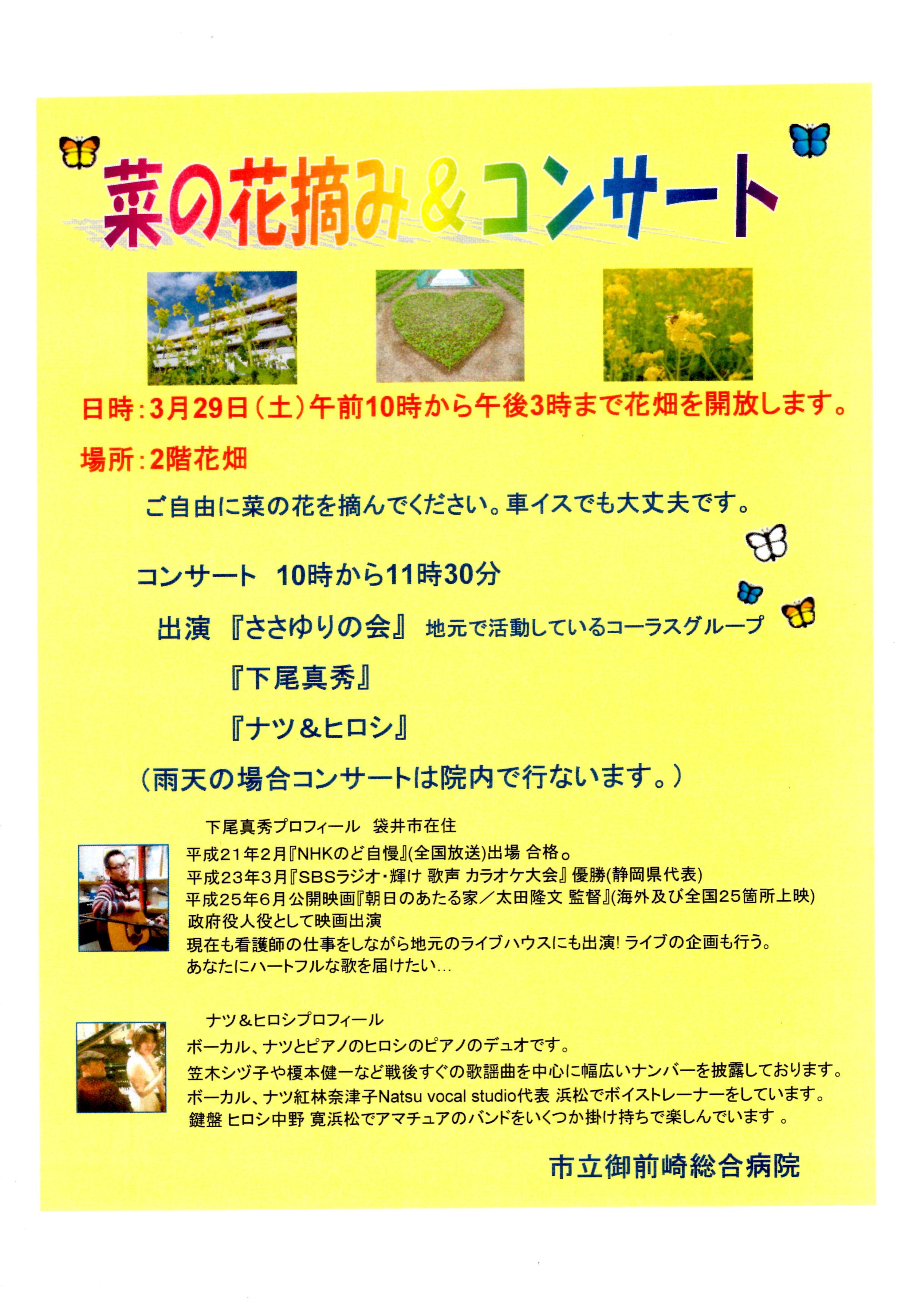 菜の花コンサート